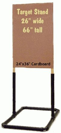 PVC sign or banner holder for shows or retail.