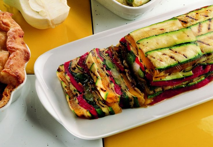 Terrina di verdure grigliate
