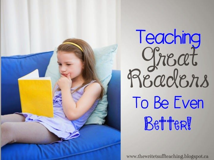 3 Ways to Teach Great Readers to Be Even Better