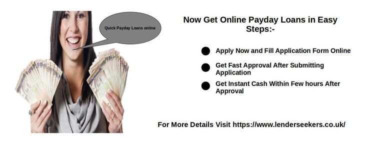 If you are facing any emergency and needs money to come out of the emergency then apply for payday loans with bad credit. LenderSeekers provides you with best payday lenders in UK who provides you fast and quick cash for even people with bad credit record.