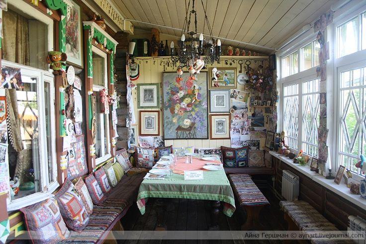 Veranda russian style