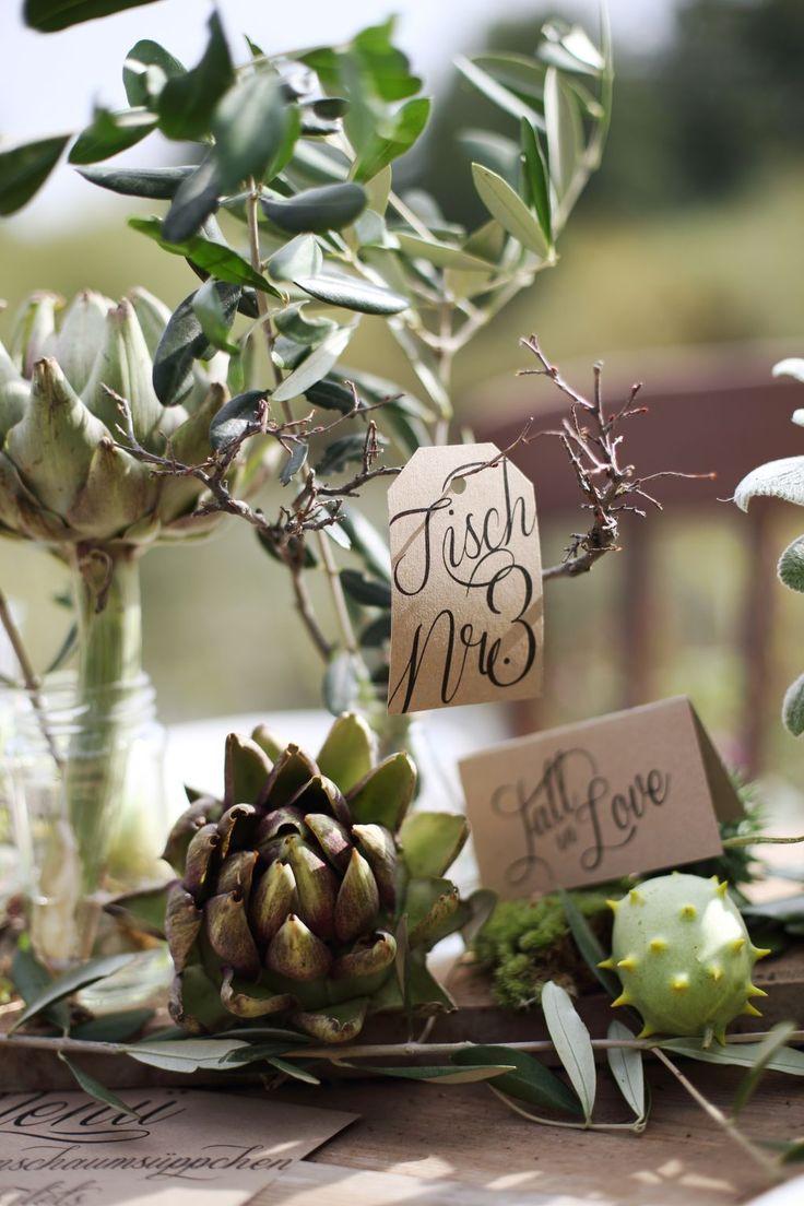 Fall Wedding, Outdoor Wedding, Hochzeit im Herbst, Tischnummer Hochzeit, Hochzeitsdeko natürlich, Natur Deko Hochzeit