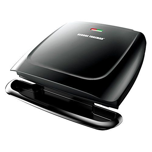 George Foreman GR2120B 8-Serving Classic Plate Grill, Black *** You can find more details by visiting the image link. #ContactGrills
