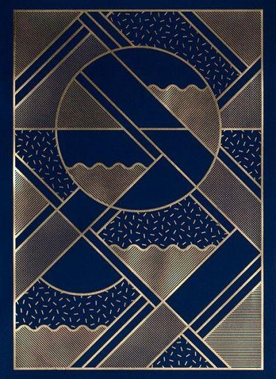 levels blue and gold by kristina krogh poster from nskelista pinterest. Black Bedroom Furniture Sets. Home Design Ideas