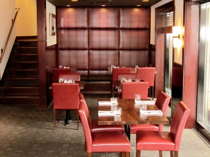 Chic comfortable seating at Catalano Restaurant & Cicchetti Bar    http://magnoliahotel.com/dining/