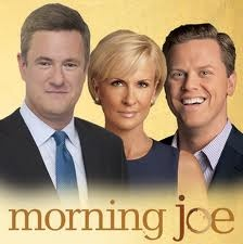 Morning Joe.....MIKA B. was our local News Anchor  (Ch 3..) in Hartford, when we lived in CT.