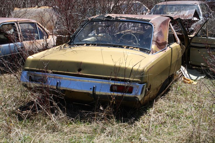 1972 Valiant Scamp Hardtop Abandoned Cars Plymouth Valiant Plymouth Scamp