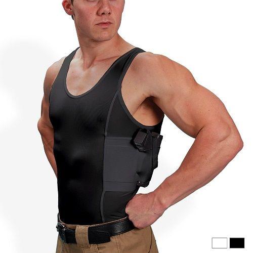 Men's Concealed Carry Holster Tank Top T-Shirt - UnderTech