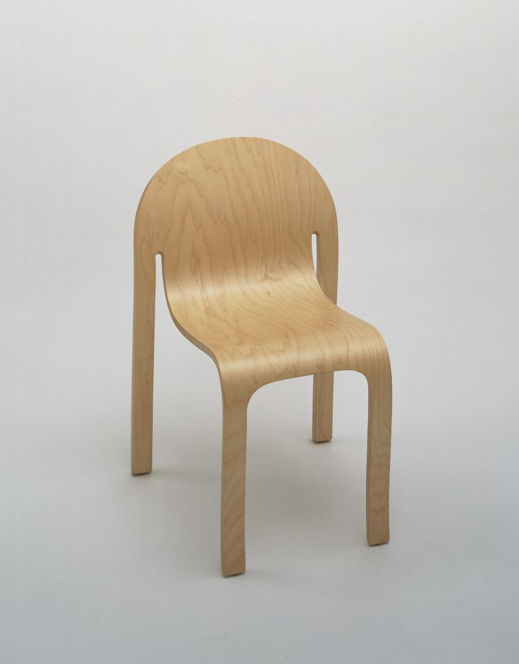 Peter Danko. Bodyform Side Chair. 1980