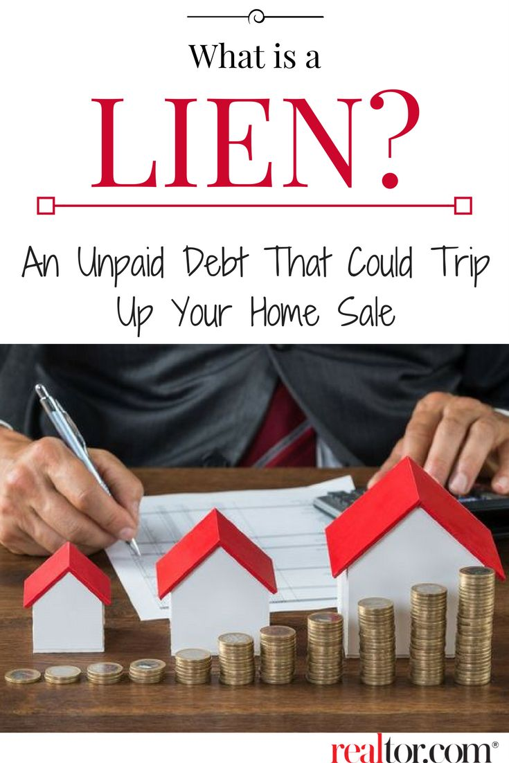 A lien is a legal notice that's put on file as a consequence of an unpaid debt. When creditors want you to know they mean business, they may choose to take legal action by placing a lien on your biggest asset, your home.  Read on for your must-know guide to resolving the issue and moving forward with the sale.