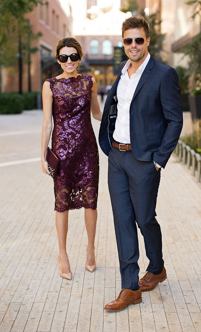 His and hers holiday party hello fashion fashion for Dresses to wear to a christmas wedding