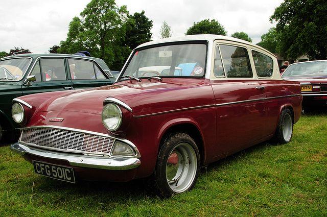 Ford Anglia 105e by hiphopcarjunkie, via Flickr