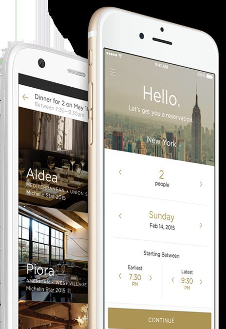 The Reserve App Handles Everything From Restaurant Reservations to Payment #business trendhunter.com