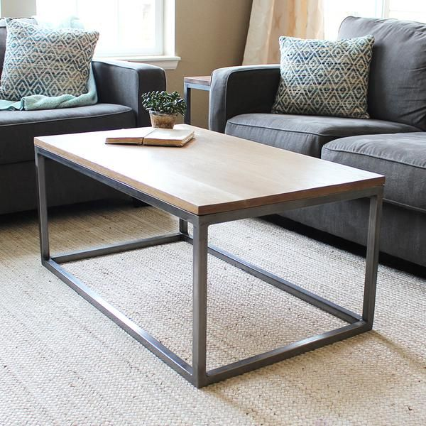 Neutral Natural Living Room Coffee Table Ideas Coffee Table White Oak Coffee Table Coffee Table Frame