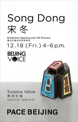 SONG DONG - SURPLUS VALUE (solo) @ Pace Beijing