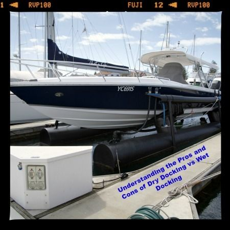 Understanding The Pros And Cons Of Dry Docking Vs Wet Docking. Boat  LiftBoat StorageCape CoralSmall ...