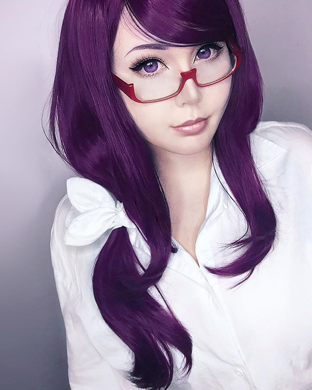 Rize^.^ cosplay por Yumizu - chan | TokyoGhoul