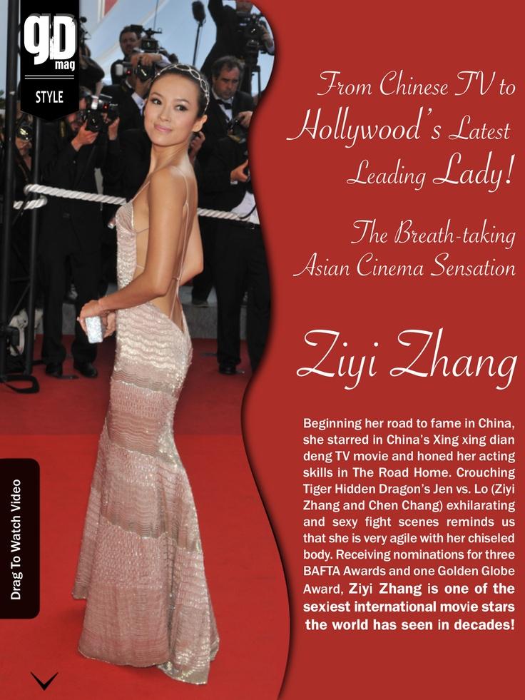 Zhang... Ziyi Zhang!  How can you not love her?!