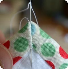 beautiful instructions for sewing on the binding of a quilt... making perfect corners...