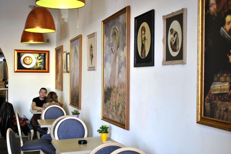 Decorarea unei cafenele artistice: Arts Caffe & Bistro Cluj