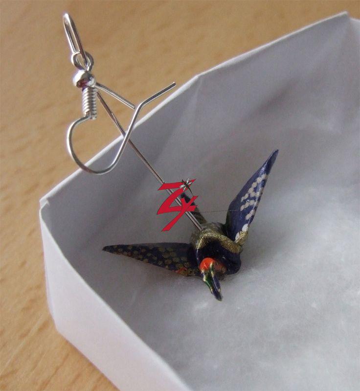 Bijoux en origami   Les Zymaginations d'Agathe
