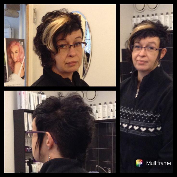 #hiustalojes #tummathiukset #lyhyethiukset