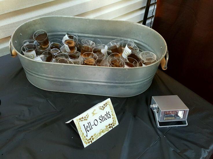 Hennessy Jello Shots