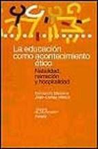 la educacion como acontecimiento etico: natalidad, narracion y ho spitalidad-fernando barcena-joan-carles melich-9788449308987