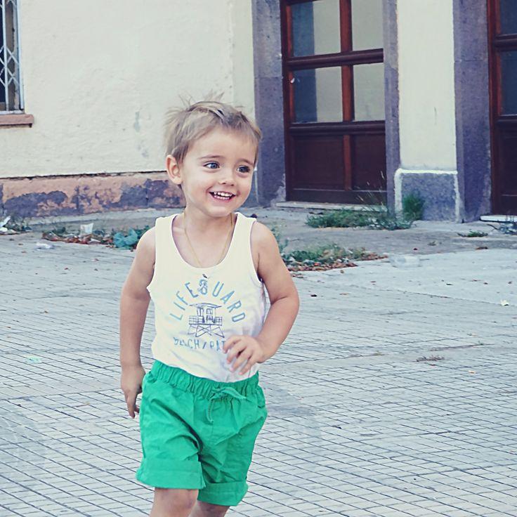 Danny at Fertilia, Sardinia, July 25, 2015
