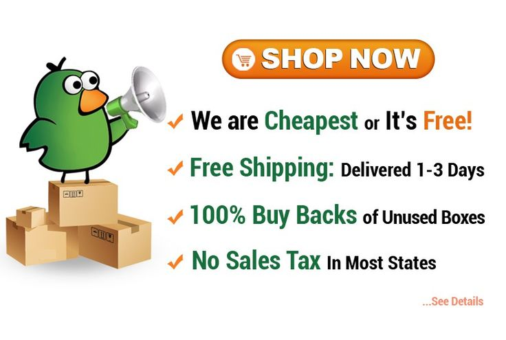 Cheap Cheap Moving Boxes Shop Now Button/Banner by house of design™