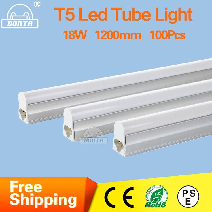 LED Tube T5 Light 85- 265V 5W 9W 14W 18W 2ft 4ft LED Fluorescent Tube T5 Cold White T5 Bulb Tube Light Aluminum T5 Tube lamp  #Affiliate