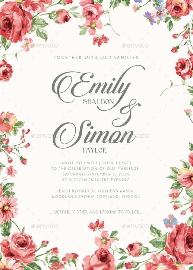 12 best DISEÑOS VINTAGE images on Pinterest Invitations, Vector - best of luxury invitation vector