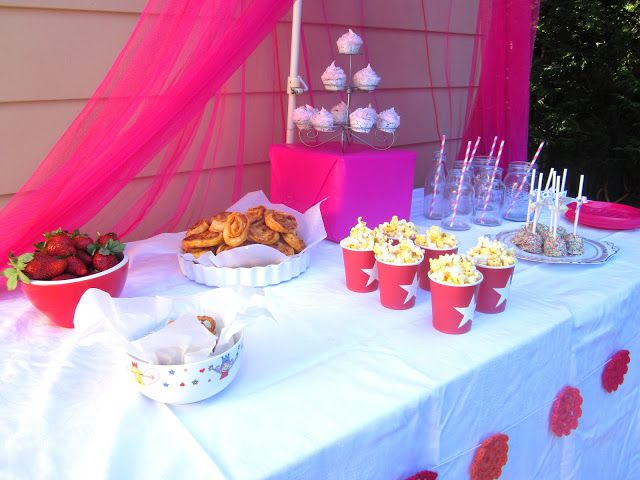 party table decoration ideas for little girls simple food ideas for a little girls party