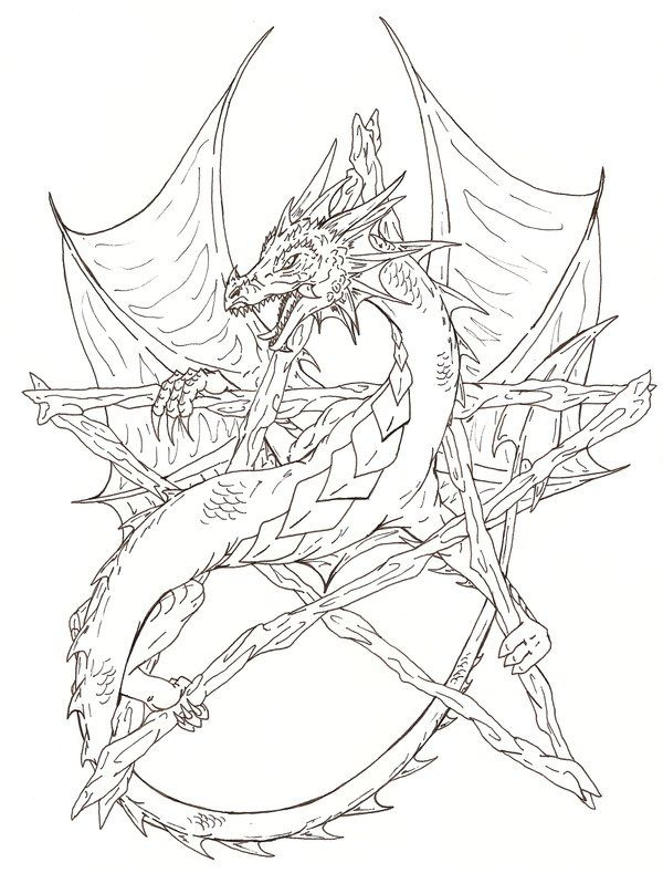 free wiccan coloring pages - photo#19