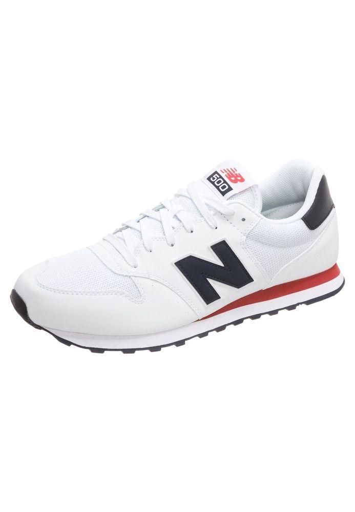 New Balance Sneaker 'GM500-D' Herren, Schwarz / Weiß / Rot ...
