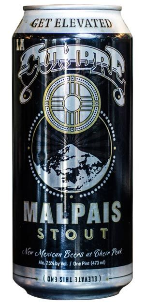 Not for the faint of heart, Malpais Stout from La Cumbre Brewing is a big, bold and robust stout.