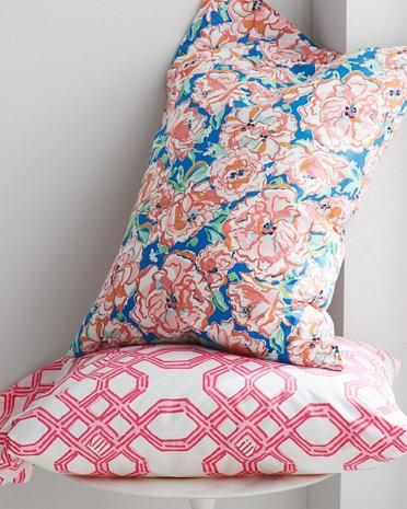 lilly pulitzer perfectly printed percale bedding collection via hill