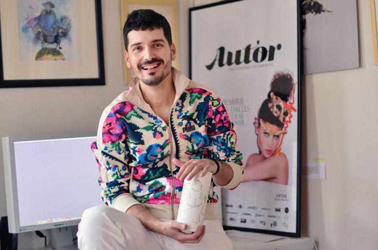 Dan Piersinaru, artist, owner of Autor and photographer www.dautor.ro , www.piersinaru.com Puma Etno Star Jacket by Lana Dumitru  #lana #dumitru #lanadumitru #digitalprint