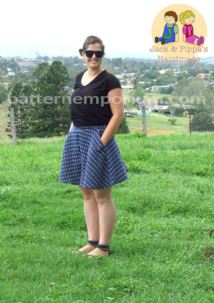 PDF Pattern: Ladies Swing Shorts
