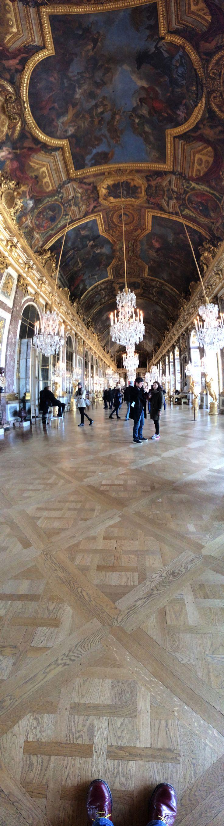 Panoramic inside Versailles