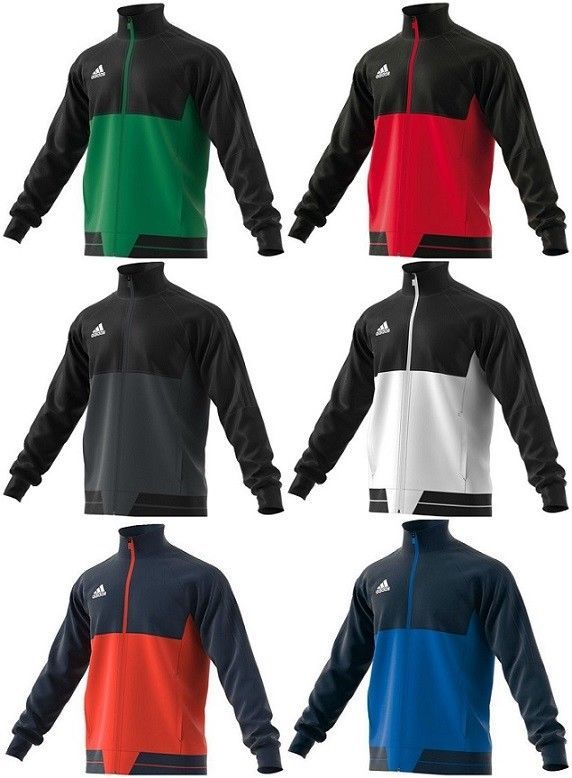 Adidas Mens Tiro 17 Training Jacket Jumper Sports Sweatshirt Tracksuit Track Top