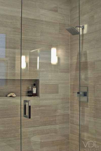 Bathroom Floor To Ceiling Storage : I like the neutral tiles floor to ceiling glass