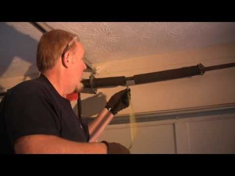 Part 1 of 4 videos that step-by-step guide you through garage door spring replacement.