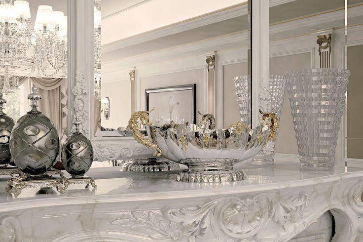 #luxury #interior design #sterling silver #schiavon
