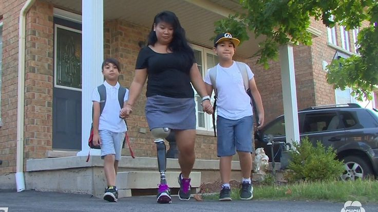 Wednesday was the first day of school for more than 62 000 Halton students, among them were two Burlington boys who had their dream come true. Their mom walked them school for the very first time, thanks to a story aired on CHCH earlier this year. Back in January, CHCH aired a piece about Patty De Guia, a single mother who lost her leg to cancer in 2007. Her home bakery had been shut down after someone reported it to the local health department. Shortly after airing, a GoFund Me page was set…