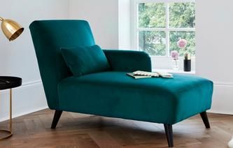 Image result for one and a half chair teal