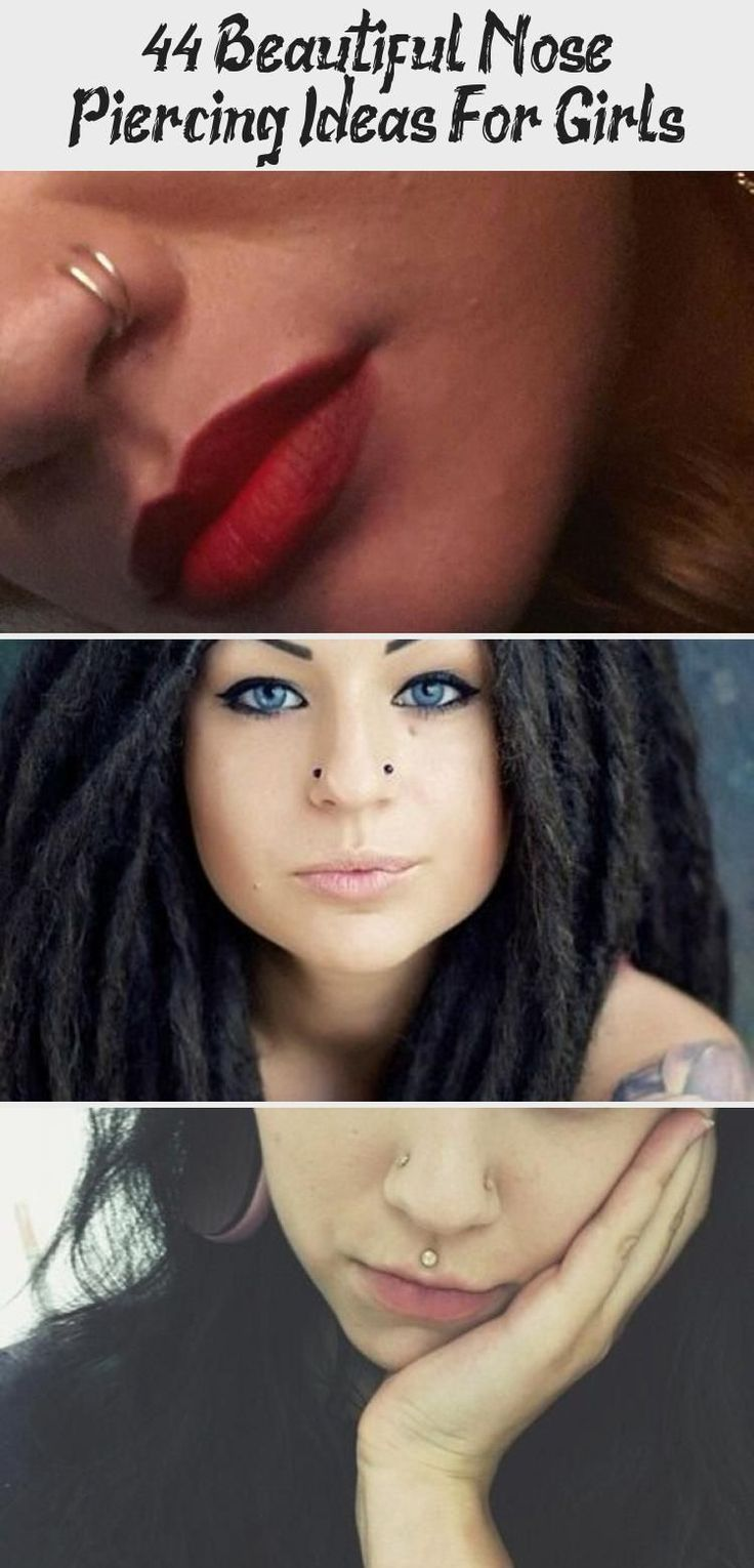 44 Beautiful Nose Piercing Ideas For Girls Tattoos and