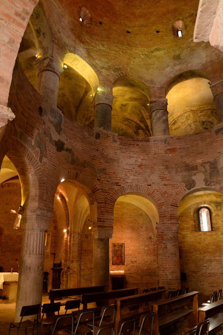 Rotonda di San Lorenzo, Mantova - 11th century circular church inspired on the Holy Sepulchre Church in Jerusalem.