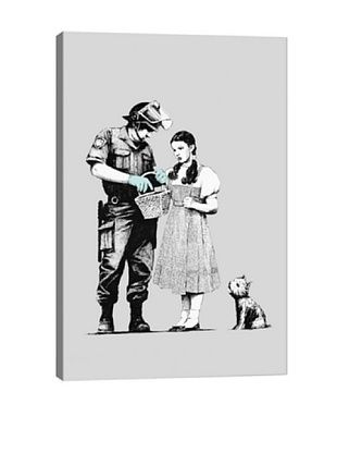 68% OFF Banksy Dorothy Police Search Canvas Print