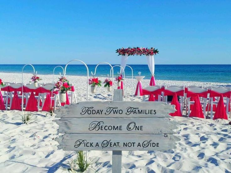 Affordable Destin Florida Beach Wedding Packages/ All Inclusive ...